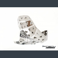 Skid plate with exhaust pipe guard for Beta RR200