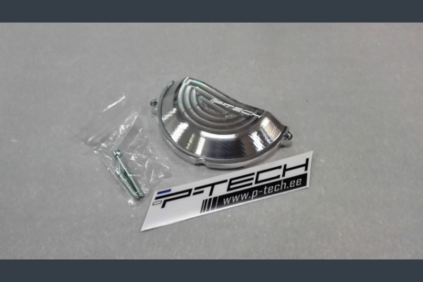 Clutch cover guard for KTM EXC-F / XC-F; Husqvarna FE 2017 - 2019 4 strokes.