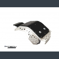 Skid plate with plastic bottom for KTM  EXC-F / XC-F & Husqvarna FE 2017 - 2020