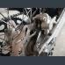 Rear brake disc guard for Husqvarna 2018-2020.