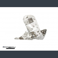 Skid plate with exhaust guard for KTM EXC 150 and Husqvarna TE 150 2020