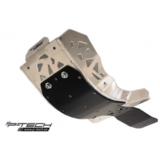 Skid plate with plastic bottom for 4T Sherco