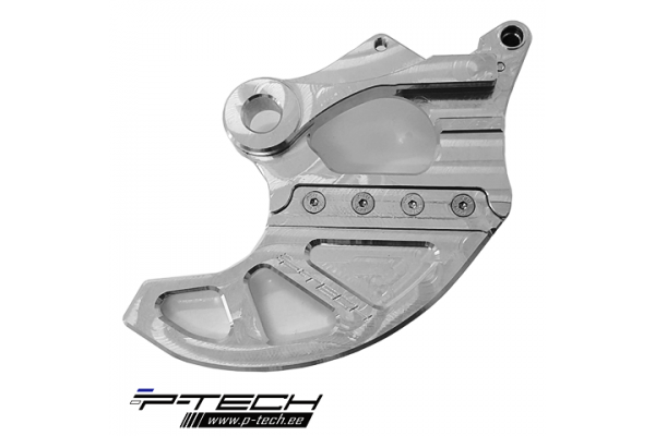 Rear brake disc guard for Sherco.
